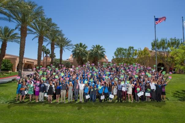 travel wins group photo 2016 cvb oasis awards