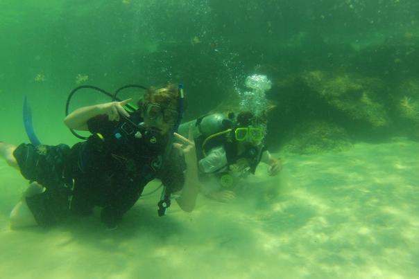 Experience scuba in PCB-2141-6