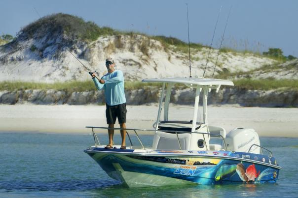 Boat Shell Island PCB Fishing