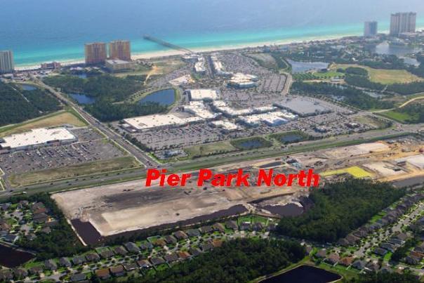 Pier Park North Aerial Photo