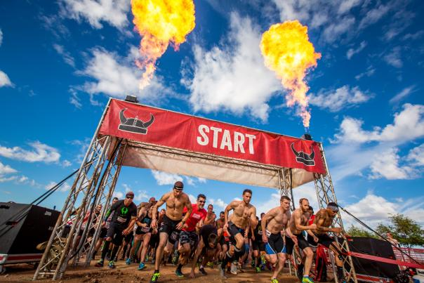 Warrior Dash Start