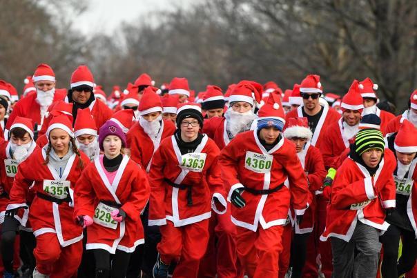 Holiday Event Santa Run