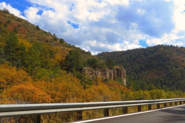A scenic Prescott fall drive