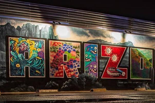 Arizona Mural at The Rebel Lounge (UGC) Header