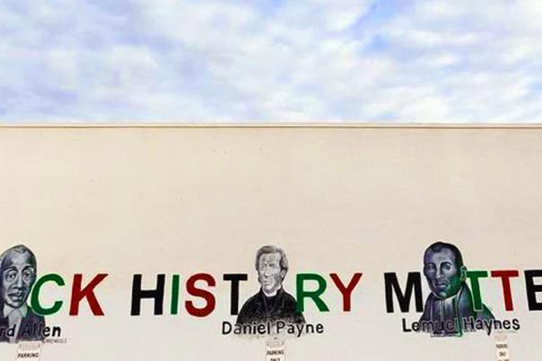 Black History Matters Mural UGC Header