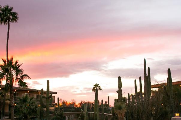 Civana Sunset Over Pool Header