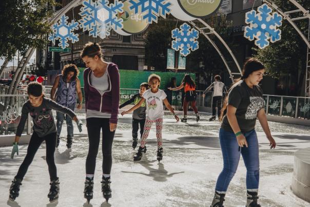 Visit CityScape's CitySkate daytime ice skating rink and bring a little winter wonderland to Phoenix's mild winter season.
