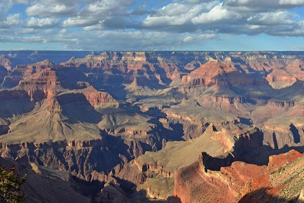 Panoramic image of Grand Canyon National Park