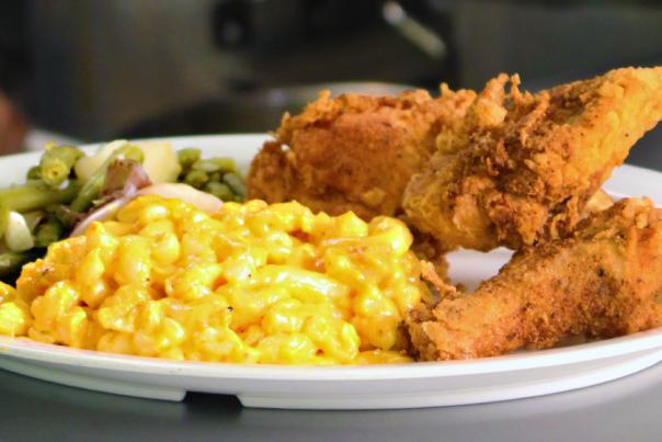 Mrs. White's Fried Chicken HEADER