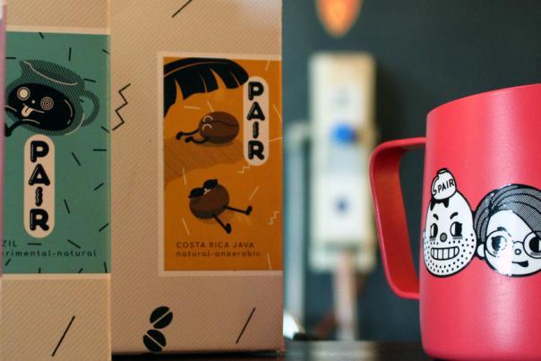 Pair Cupworks HEADER Merch