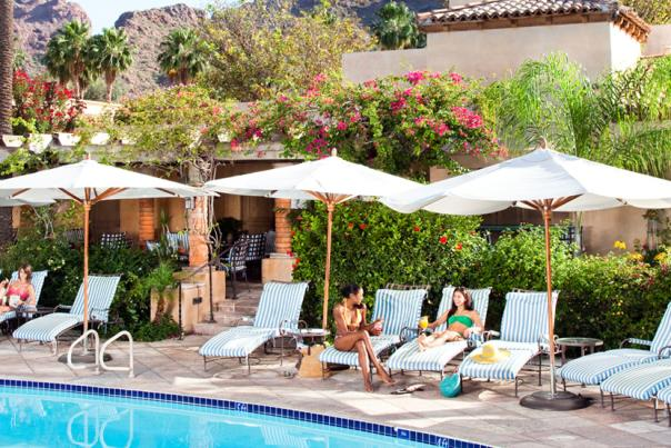 The pool at the Royal Palms Resort & Spa is the perfect place for relaxing after a long day of visiting fun Phoenix attractions.