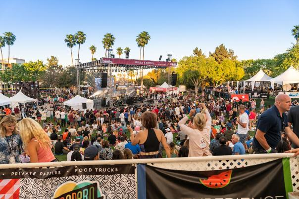 Crowd at Scottsdale Culinary Festival
