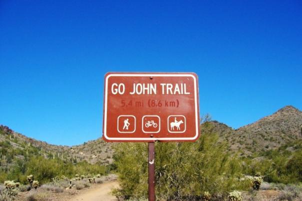 Go John trail