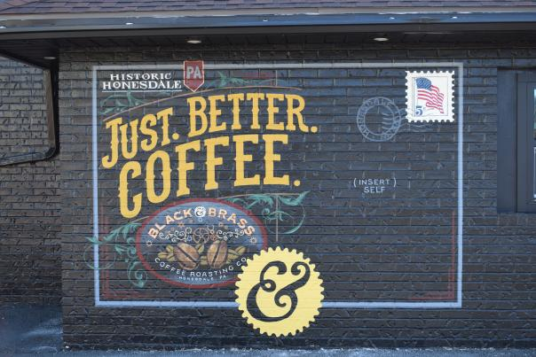 Black and Brass Coffee Roasters in Honesdale