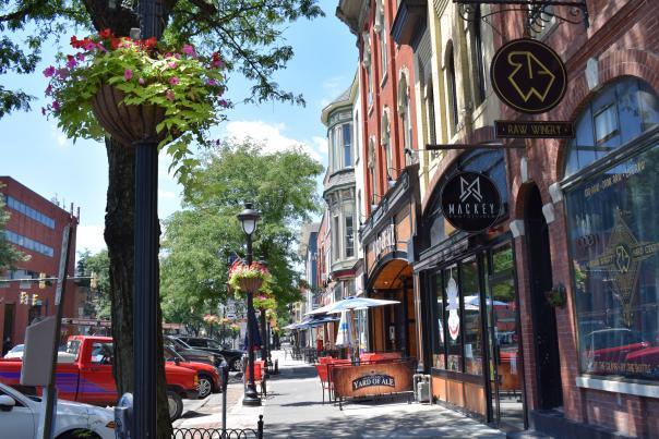 Explore beautiful Downtown Stroudsburg in the Pocono Mountains.