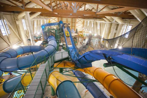 Pocono Mountains Indoor Waterparks