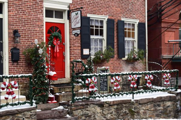 Historic Stone Row in Jim Thorpe, PA