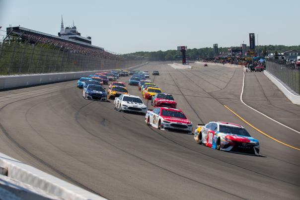 NASCAR Race at the Pocono Raceway