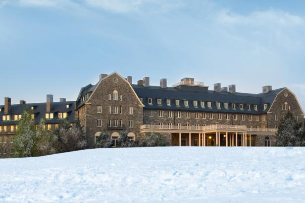 Skytop Resort in the Pocono Mountains