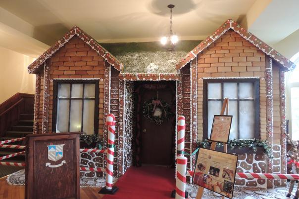 Gingerbread House at Skytop Lodge