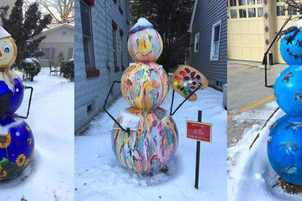 Snowmen of Stroudsburg
