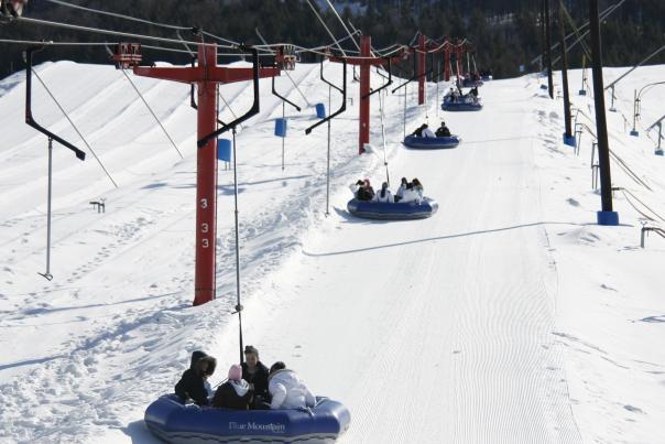 Snowtubing at Blue Mountain Resort