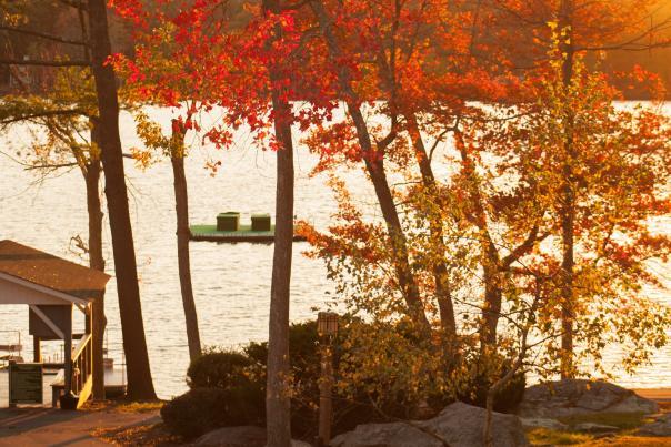 Fall at Woodloch Resort