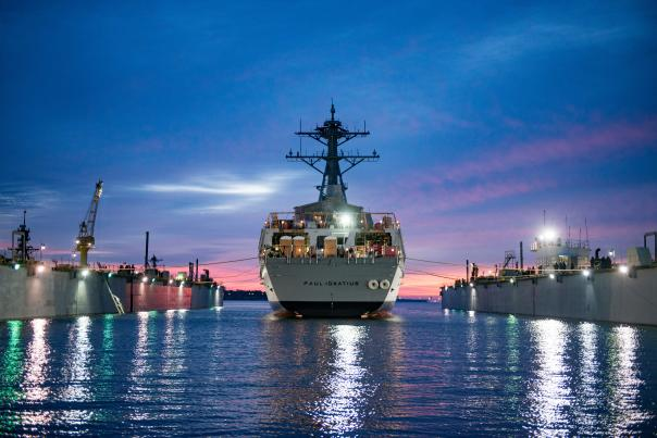 The USS Paul Ignatius will be commissioned on July 27.