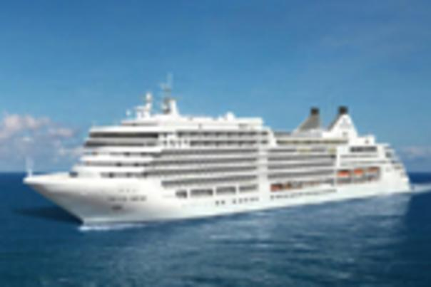 Artist rendering of the cruise ship Silver Muse
