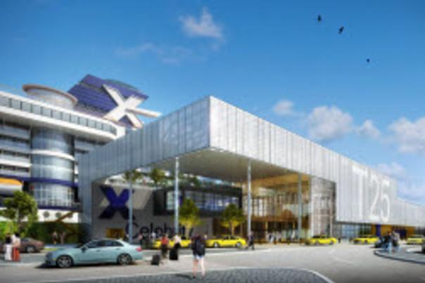 Artist rendering of what the renovated terminal will look like.