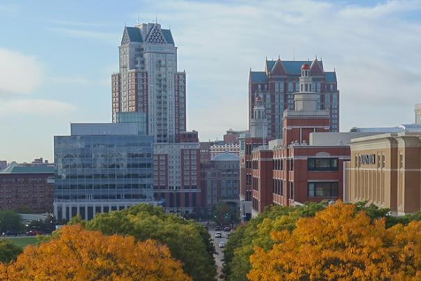 Providence in Fall City Scene