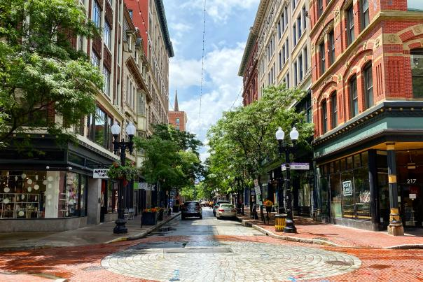 Westminster Street In Providence, RI