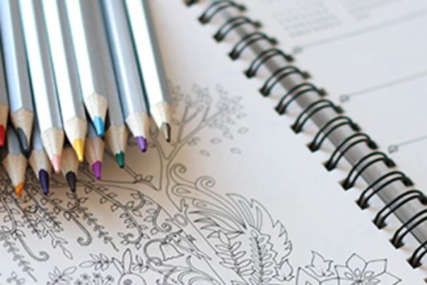 Coloring book header
