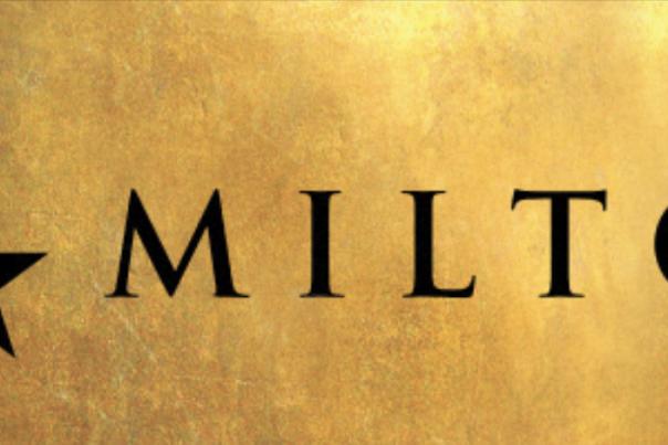 """Logo for the Musical """"Hamilton"""""""