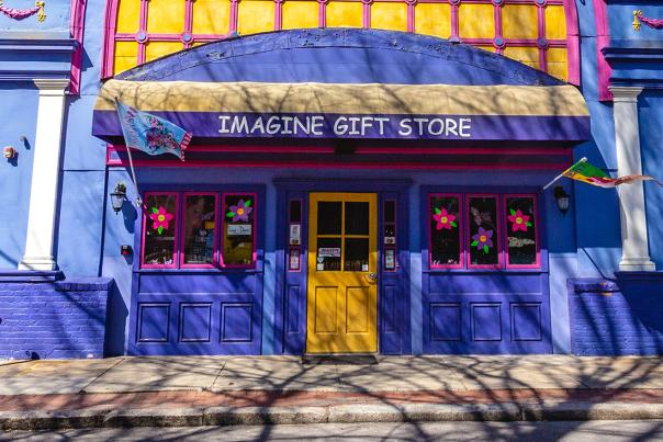 Exterior of Imagine Gift Shop in Providence