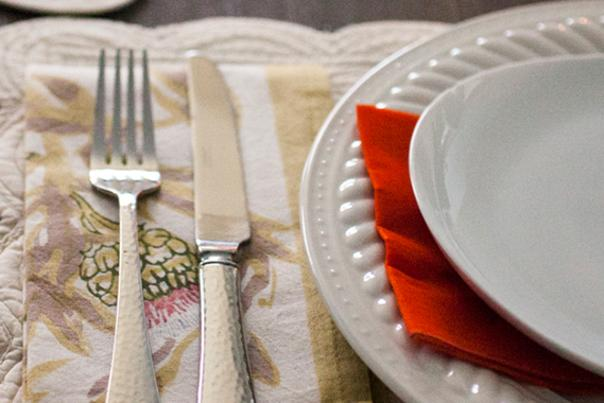Silverware and table setting for Providence restaurants open for Christmas and New Year's