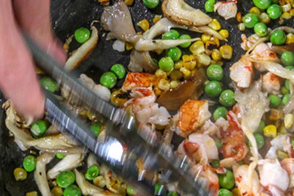 Small Bites - Lobster Ravioli
