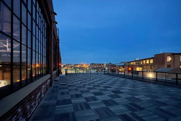WaterFire Arts Center roof deck
