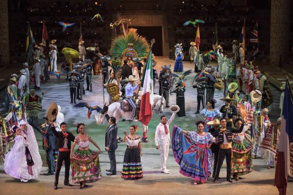 Xcaret Stage Performance