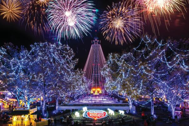 Kings Dominion NYE at WinterFest