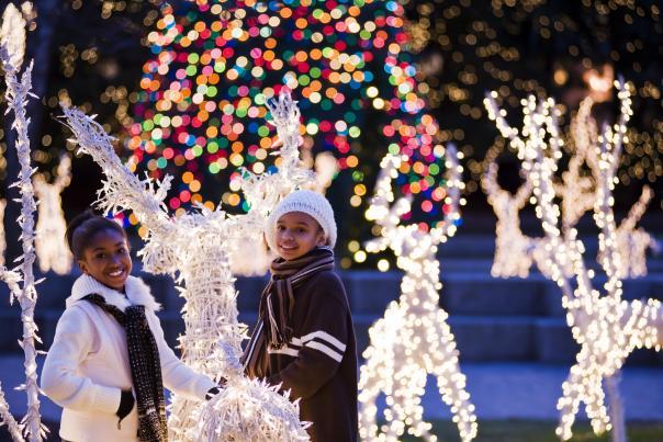 James Center Holiday Lights
