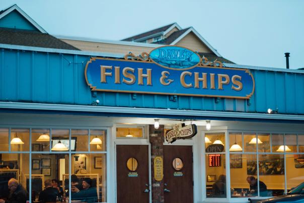 Dave's Fish & Chips - Photo: Tourism Richmond