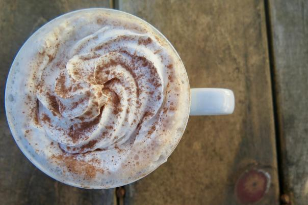 Hot Chocolate at the Juice Truck Cafe - Photo: John Lee
