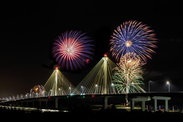 Great River Road Fireworks