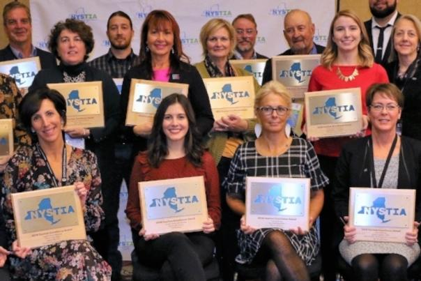 Group Photo of 2018 NYSTIA Award Winners