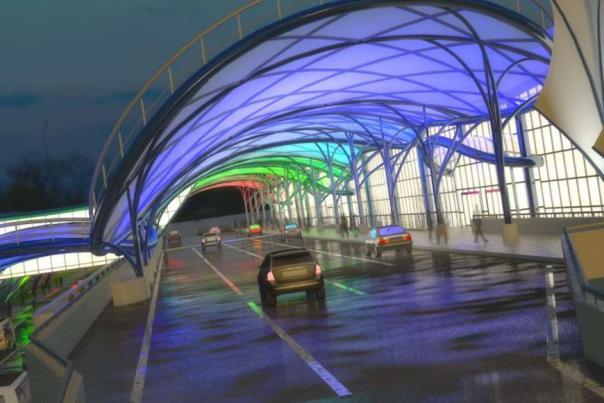Rendering of Greater Rochester International Airport transformation