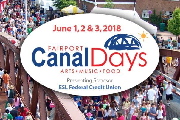 2018 Fairport Canal Days