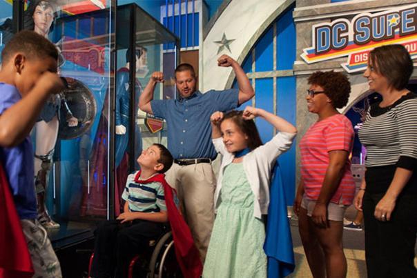 DC Super Heroes Exhibit