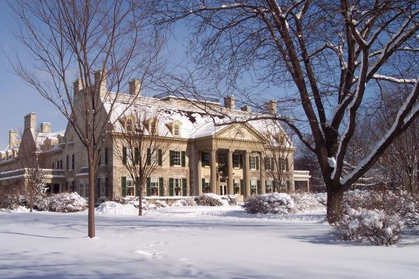 Winter at the George Eastman Museum