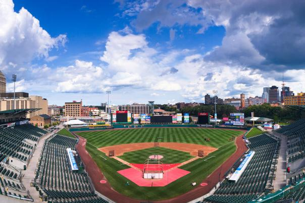 Frontier Field in Rochester NY